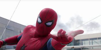Spider-Man Tom Holland Civil War