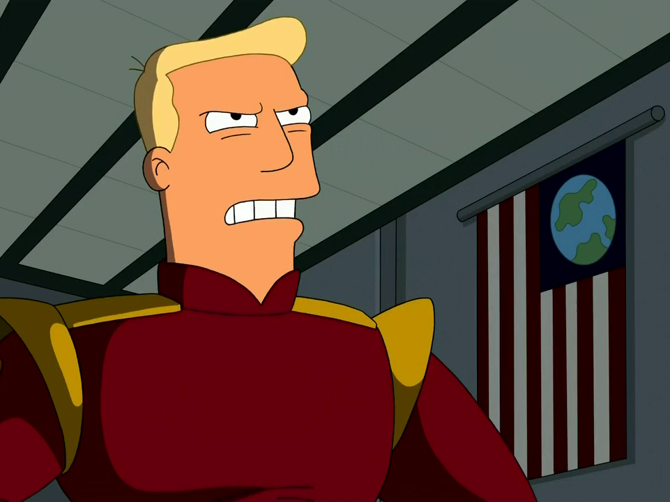 Zapp Brannigan Reading Donald Trump Quotes Is Hilarious