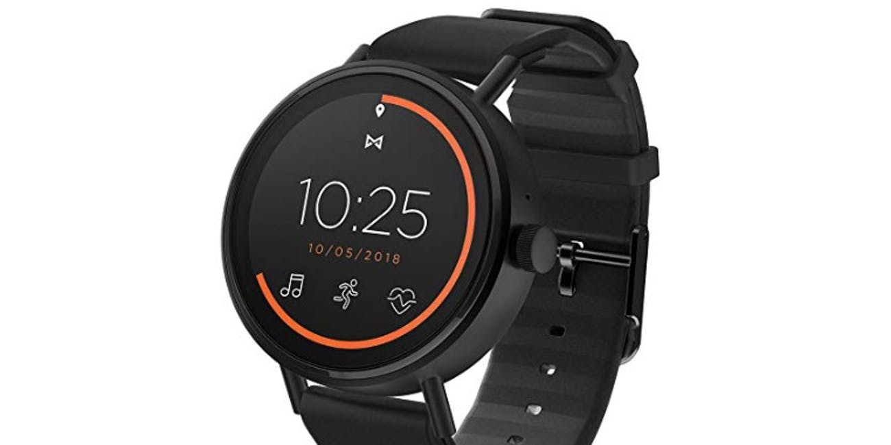 Misfit Vapor 2 Stainless Steel and Silicone Touchscreen Smartwatch