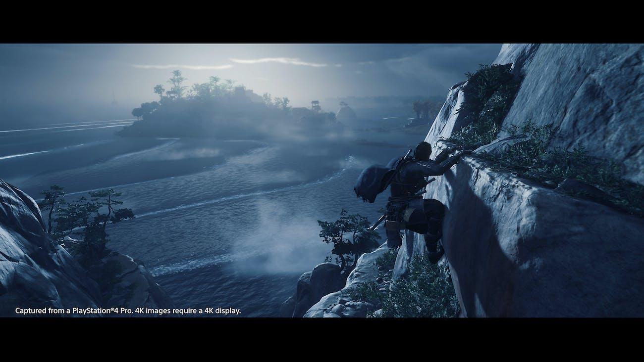 fantôme de tsushima ventouse punch ps4 sony
