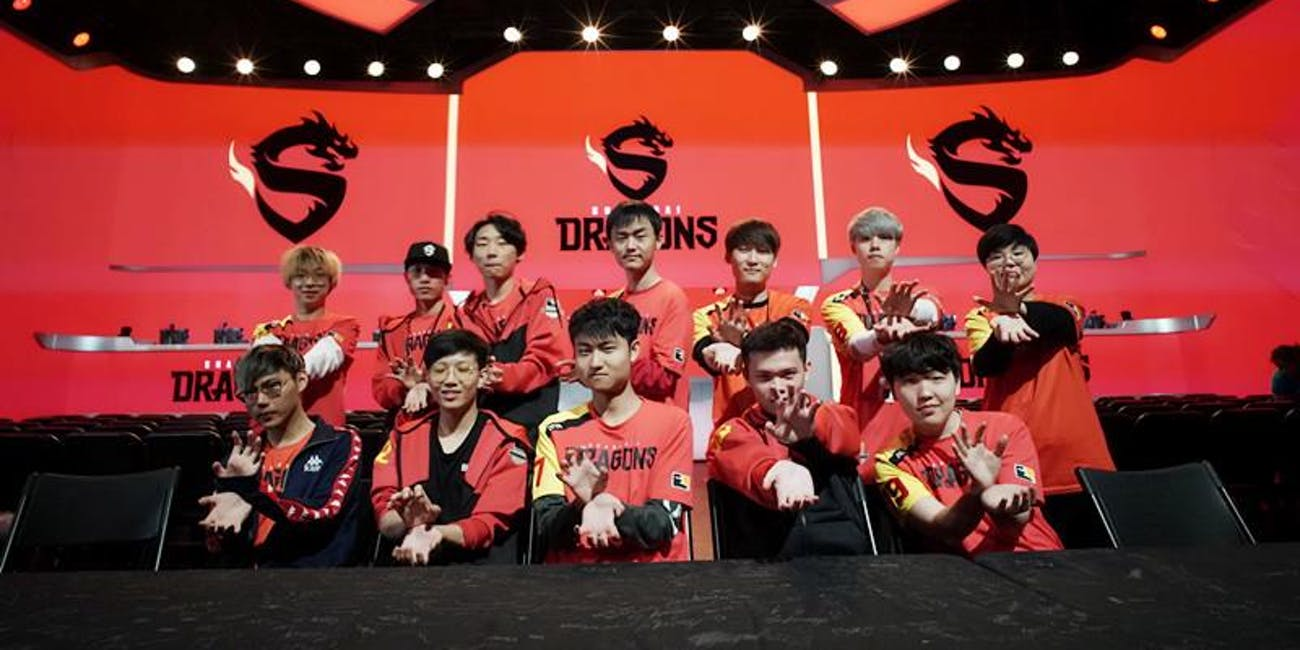 Shanghai Dragons, Overwatch League