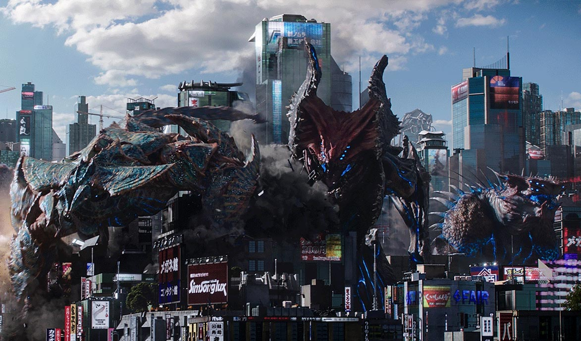 Image result for pacific rim uprising fight