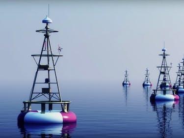 DARPA's TUNA Program Uses Buoys to Create a Data Network at Sea
