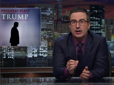 John Oliver: You Need to Donate to These Groups Under Trump