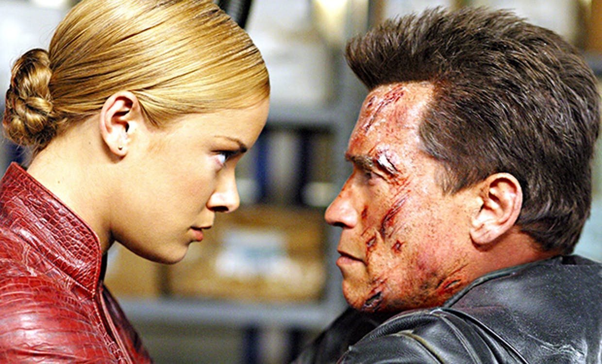 'Terminator 3' is perhaps the worst movie in the series.