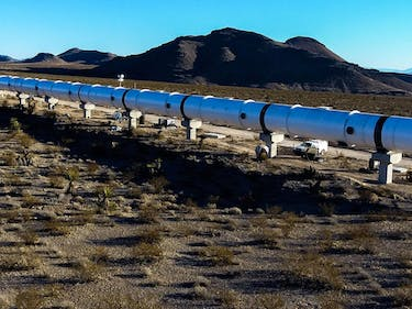 "Hyperloop One CEO: ""We Will Go Underground"""