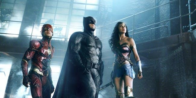 Batman Wonder Woman Justice League