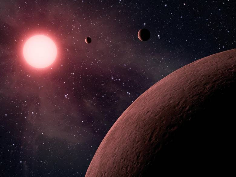 The KOI-961 system hosts three exoplanets, but they're tiny compared to the new Chilean find.