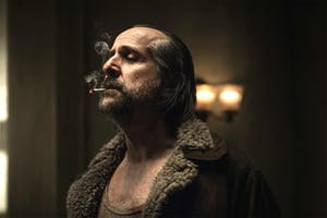 Peter Stormare as Czernobog in 'American Gods' episode 2, 'The Secret of Spoons'