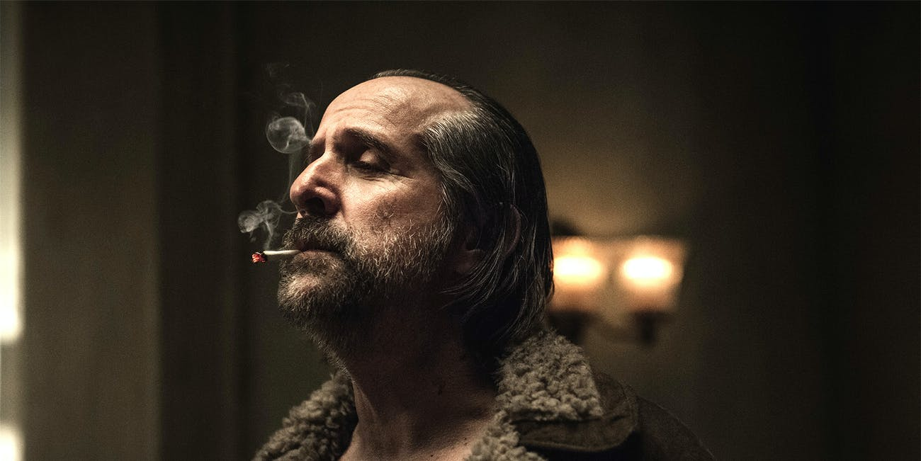 Peter Stormare as Czernobog in 'American Gods' episode 2, 'The Secret of Spoons'