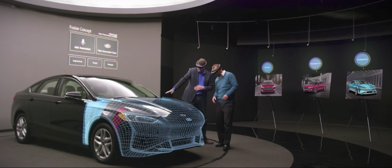 ford reveals its latest cars will be built using augmented reality