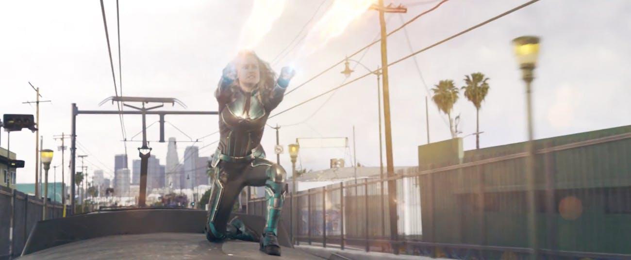 'Captain Marvel' Photonic Blasts