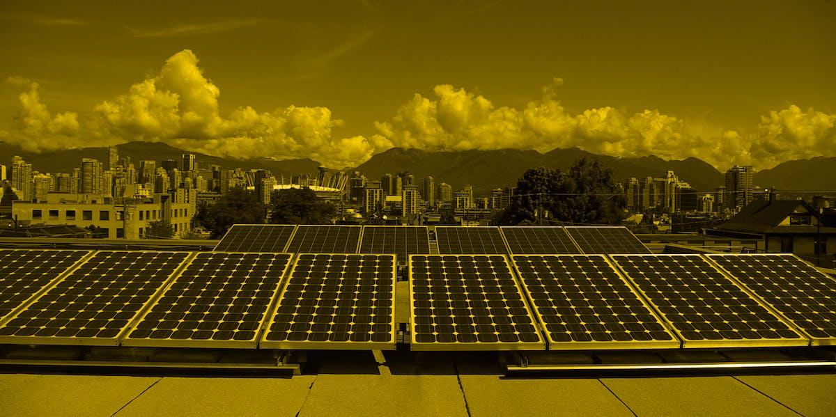 solar panels in Vancocuer