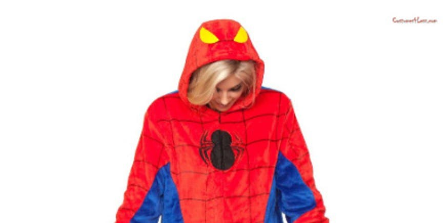 Spiderman Adult Onesie