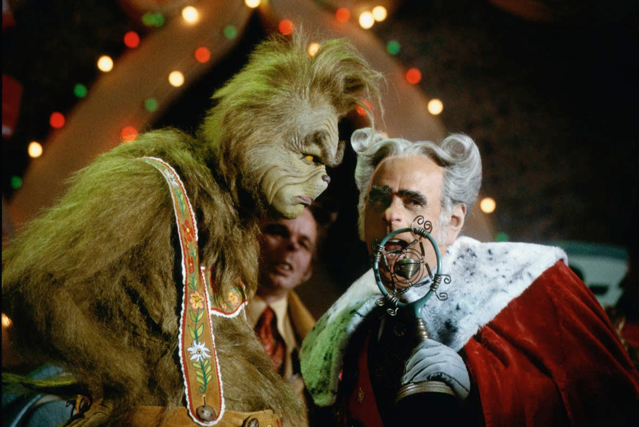 How The Grinch Stole Christmas Movie Characters.Why The Live Action How The Grinch Stole Christmas Is The