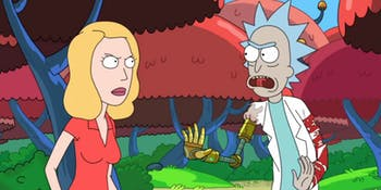 Beth and Rick sort out their issues.