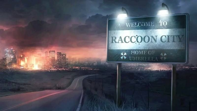 Raccoon City from Resident Evil