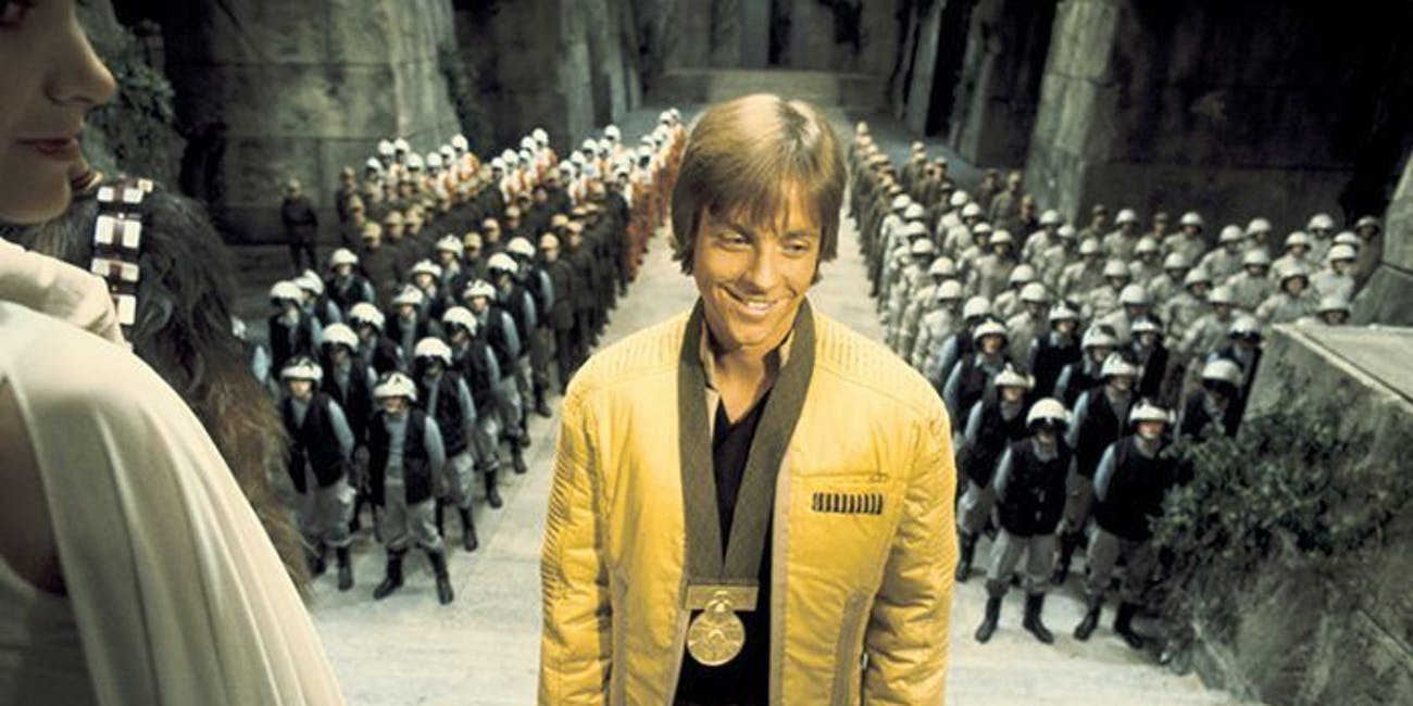 Luke Skywalker's medal