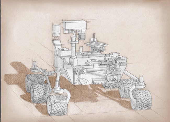 NASA's Mars 2020 rover will be a souped up version of Curiosity.