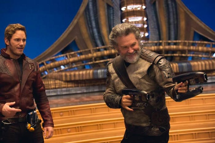Star Lord/ Peter Quill in 'Guardians of The Galaxy Vol. 2'