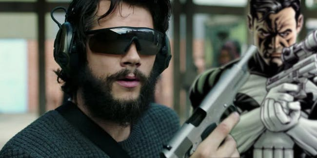 Dylan O'Brien's Mitch Rapp in 'American Assassin' might as well be Frank Castle from 'The Punisher' (2004).