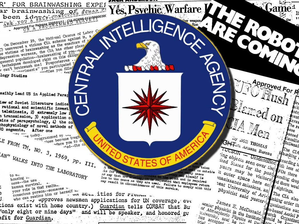 Ten Extremely Weird Documents in the CIA's Online FOIA Archives