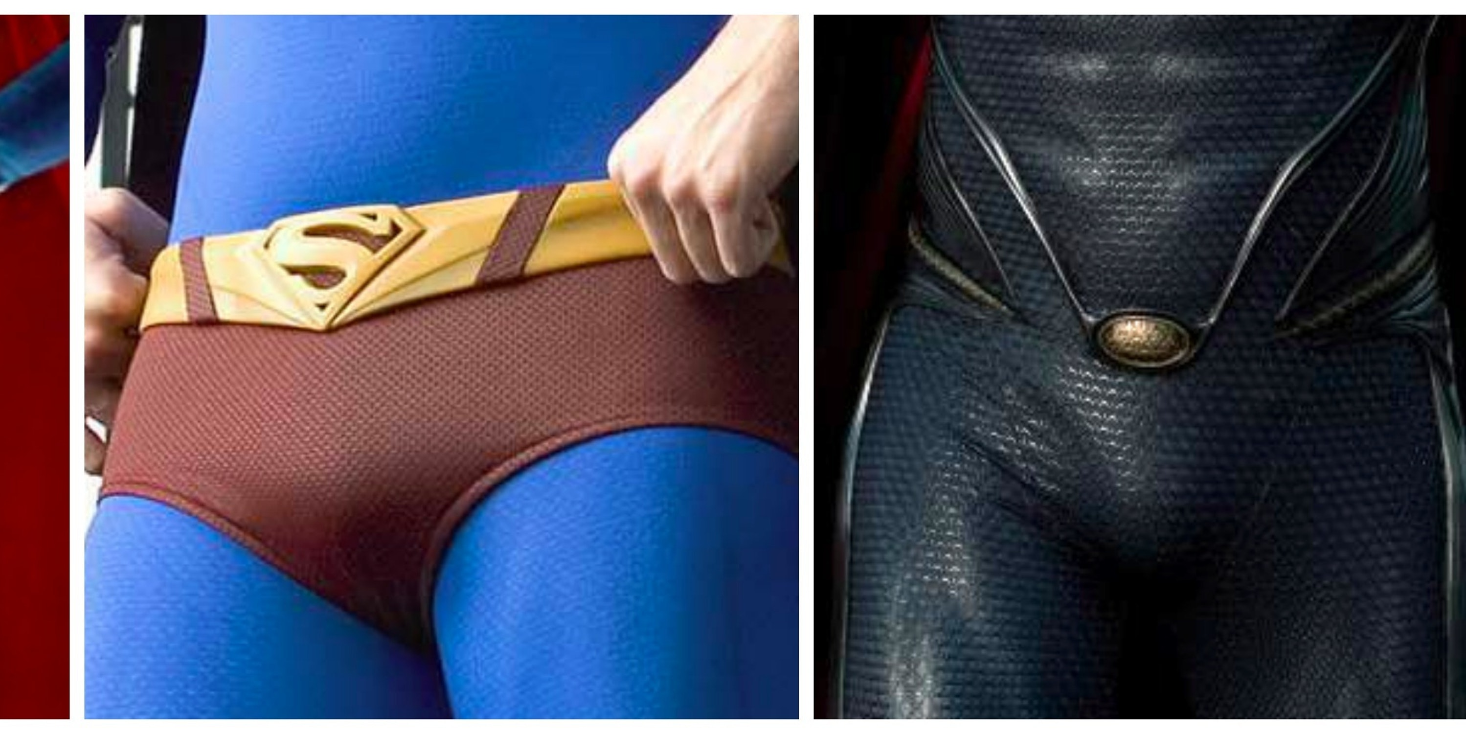 A Brief History of Superman's Bulge