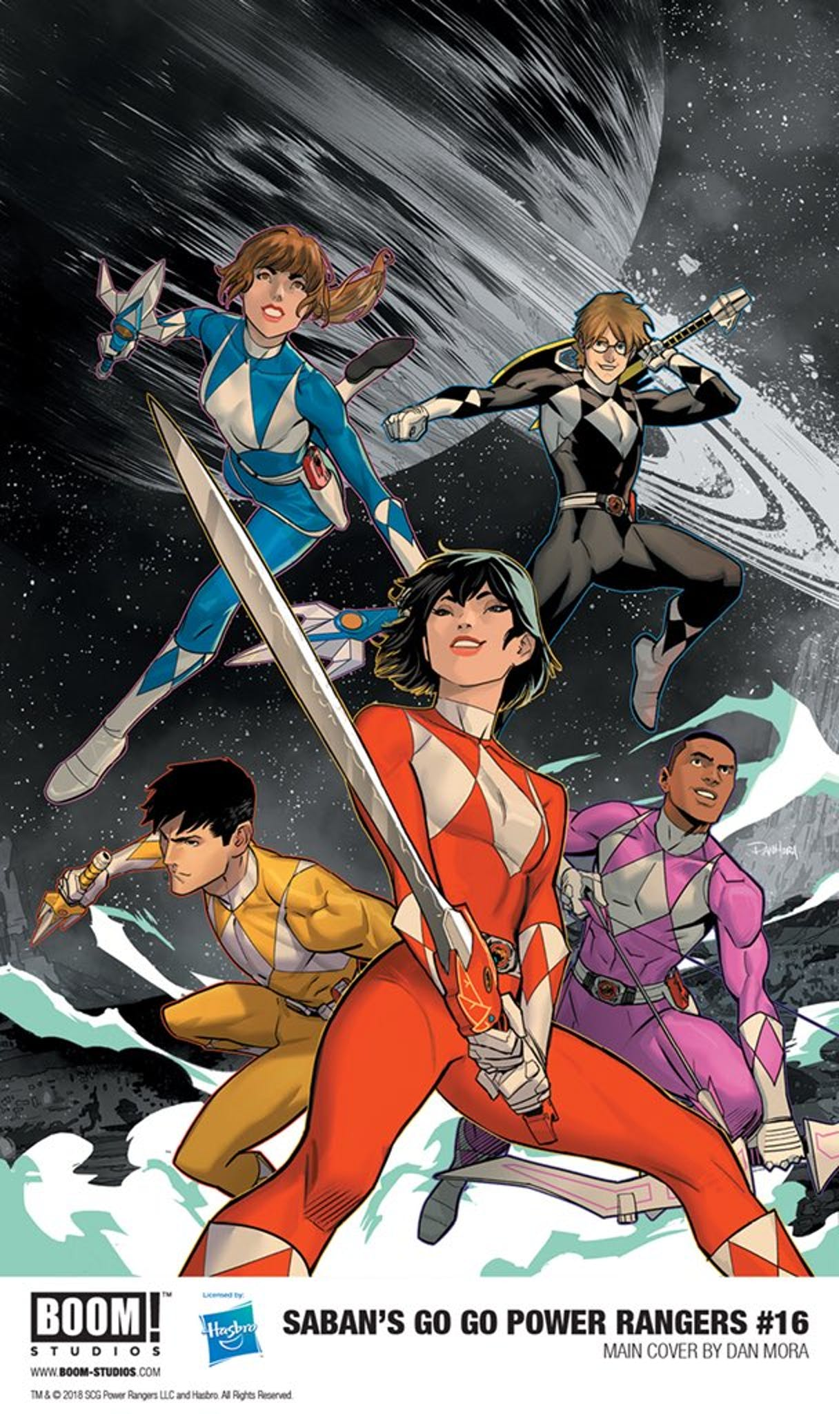 Go Go Power Rangers 16