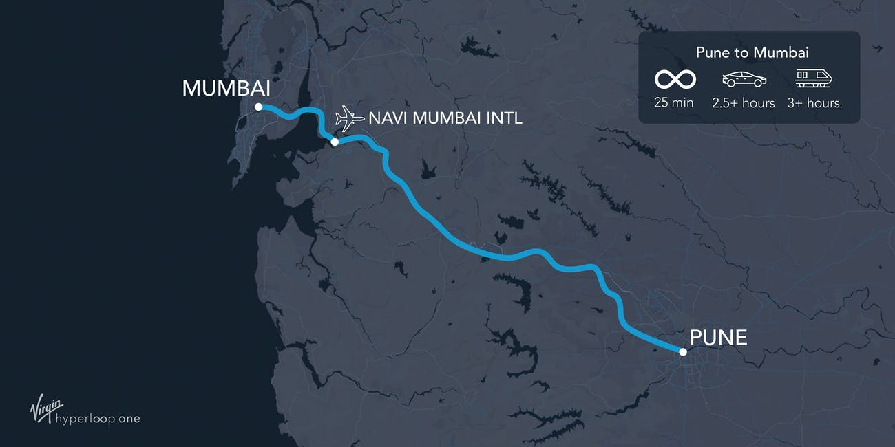 The Pune-Mumbai plan.
