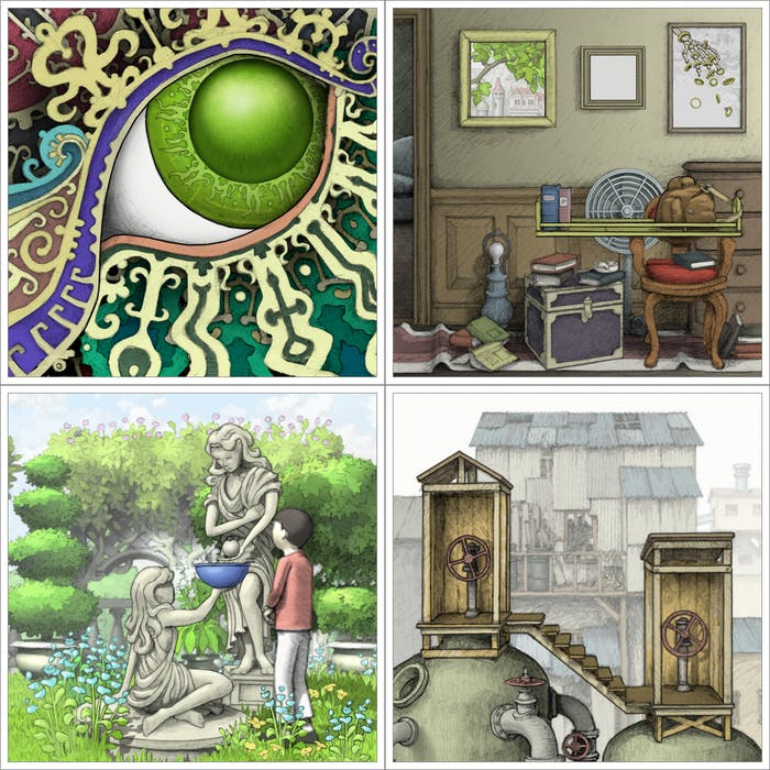 There's something to say about all the eyes in 'Gorogoa.'