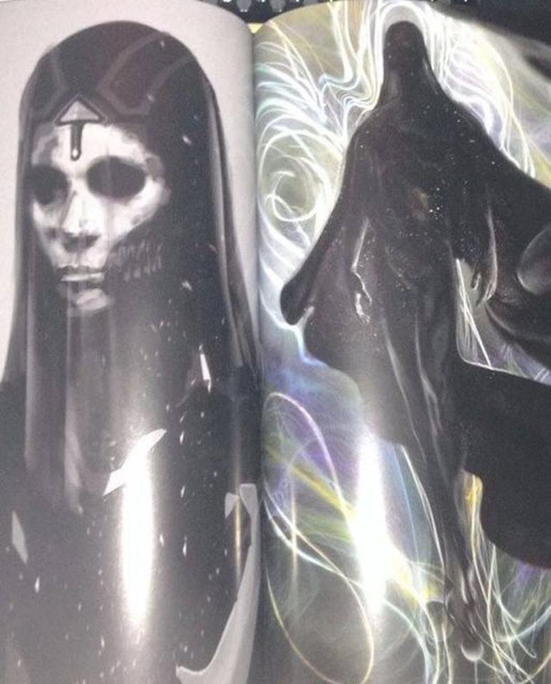 Zealot concept art from 'Doctor Strange' bares a striking resemblance to Marvel's Mistress Death.