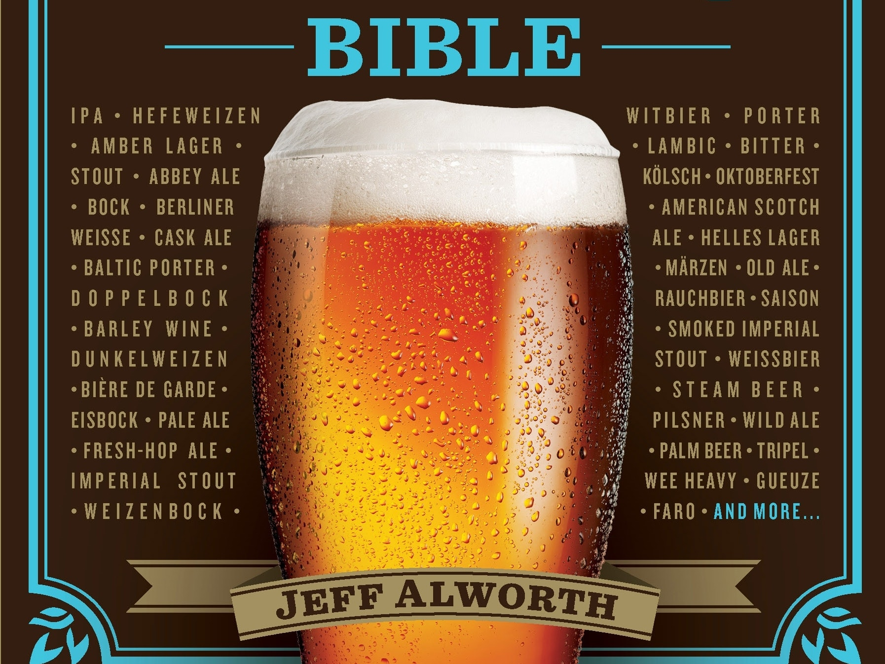 Every Man Should Have 'The Beer Bible' in His Library, a Buncha Beer in Fridge