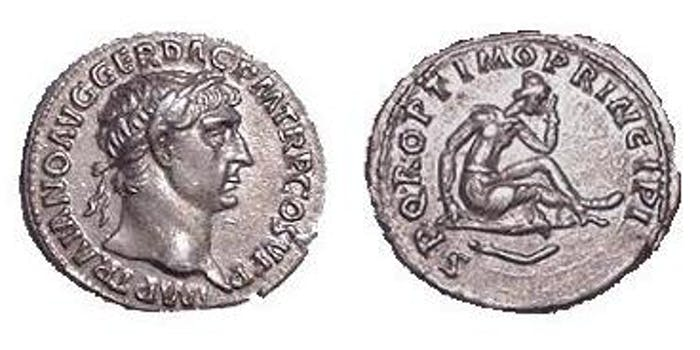 Trajan-denarius