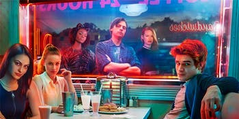 K.J. Apa, Cole Sprouse, Lili Reinhart in 'Riverdale'