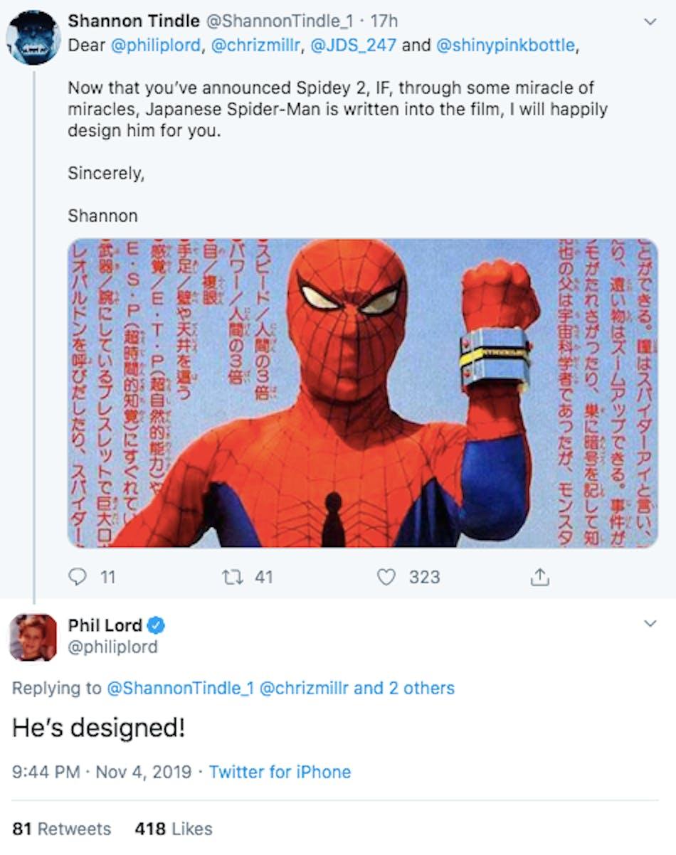 Spider-Man Toei Spider-Verse