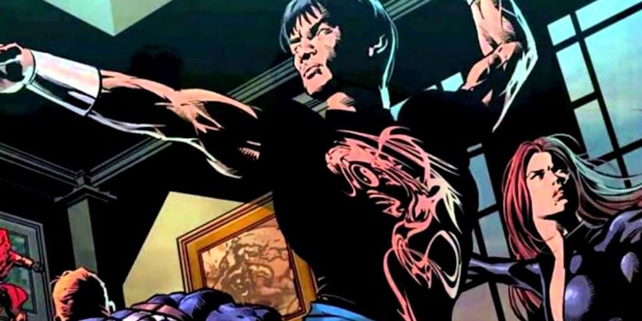 Shang Chi comics fight scene