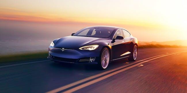 Tesla car electricity supercharger solar energy green corporation