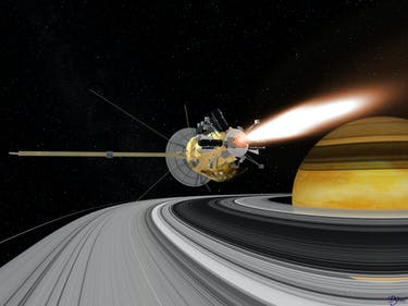 Cassini Enters Final Phase of Saturn Orbits Before it Dies