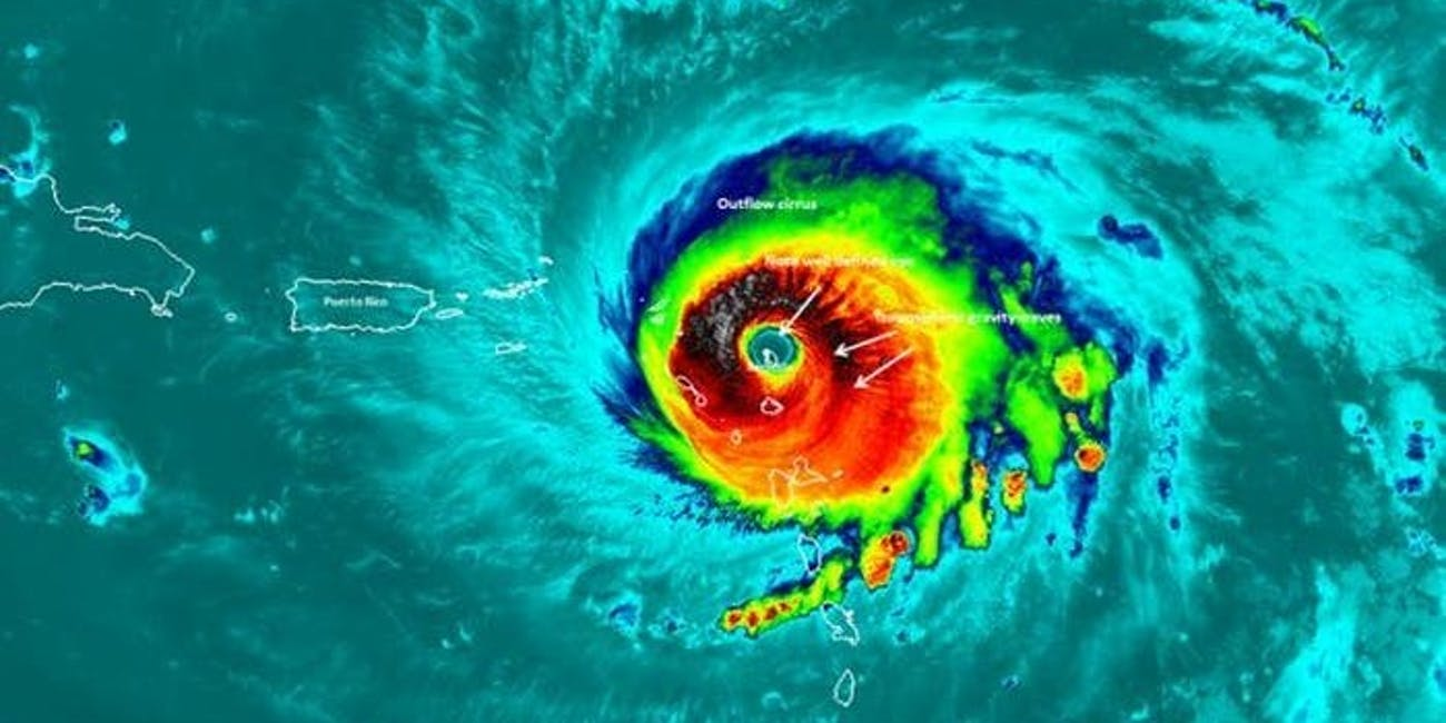 Barbuda was destroyed by Hurricane Irma.