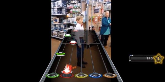 Yodeling Walmart Kid Guitar Hero
