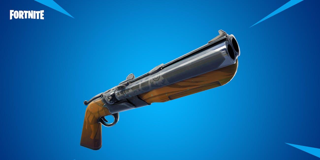 fortnite double barrel shotgun stats damage update 5.20 patch notes
