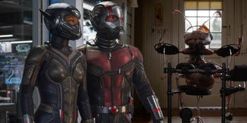 Ant-Man Wasp Post-Credits Scene