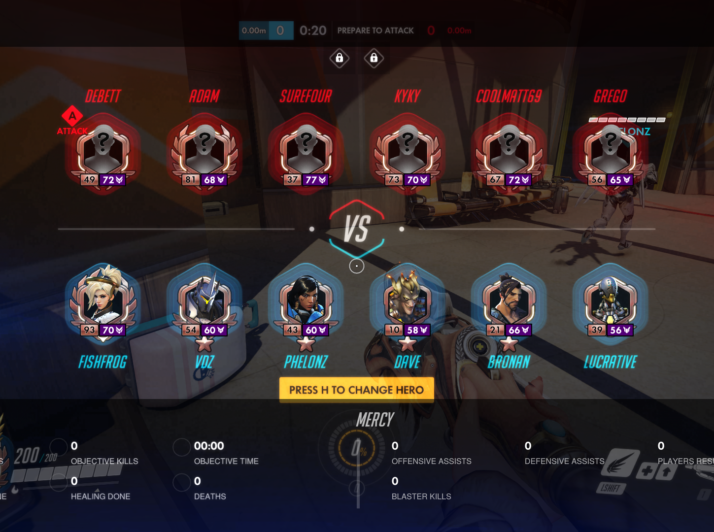 Overwatch Skill Rating