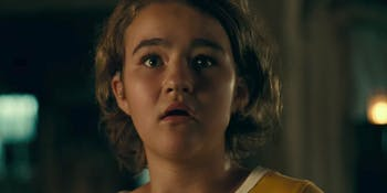 Millicent Simmonds plays Regan Abbot in 'A Quiet Place'.