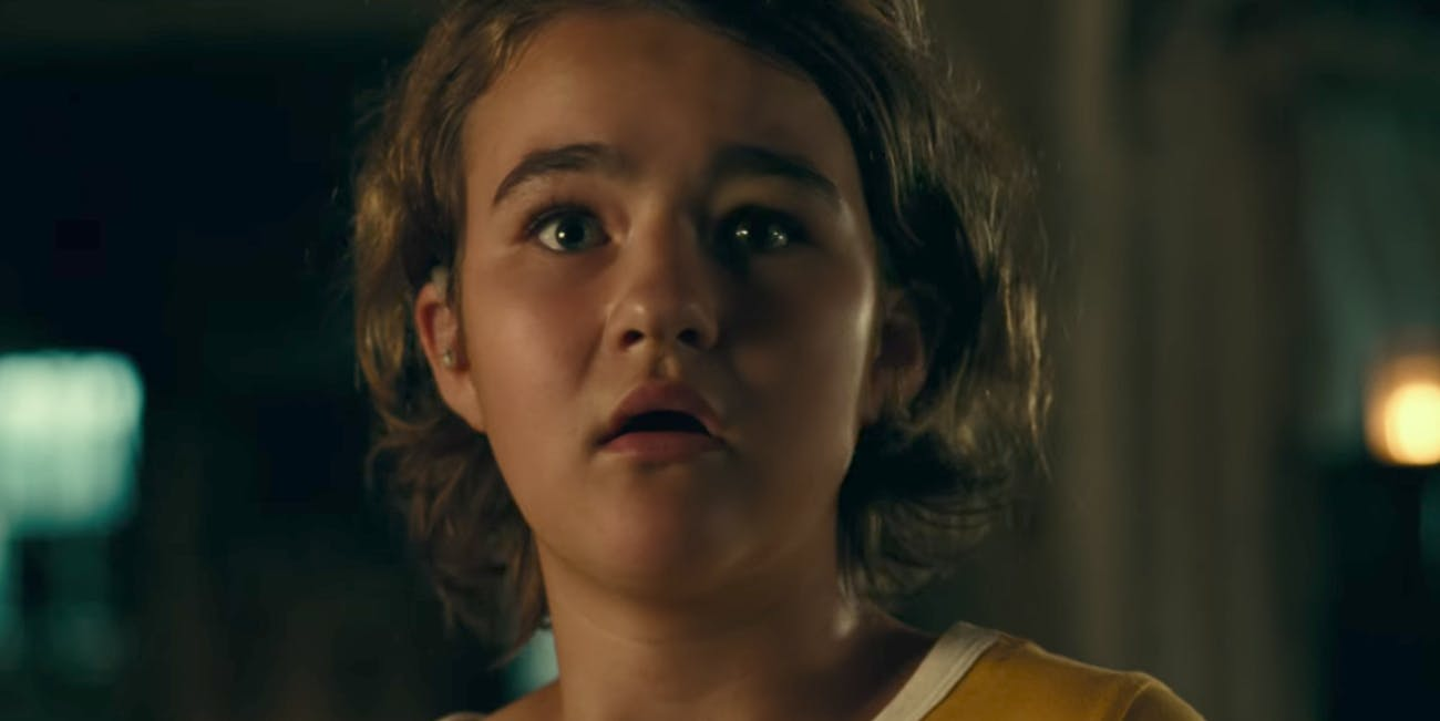 Millicent Simmonds plays Regan Abbot in 'A Quiet Place'.