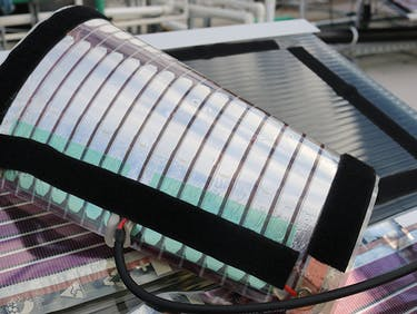 "These ""Printed"" Solar Panels Were Made for Energy-Starved Regions"