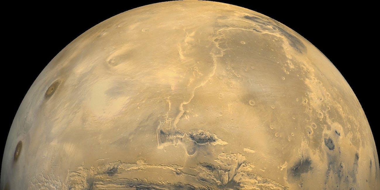 Mars viking composite