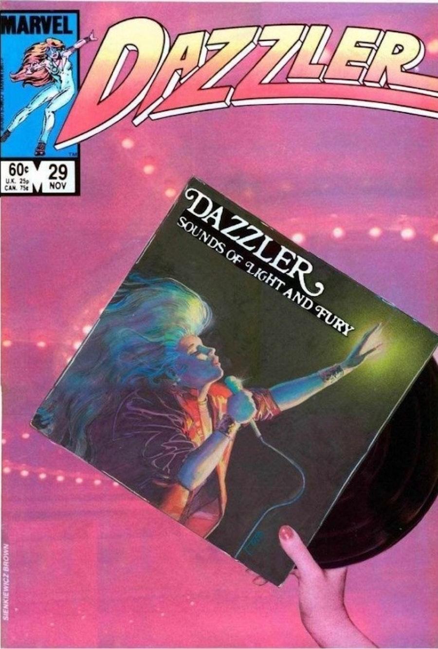Dazzler Cover by Bill Sienkiewicz