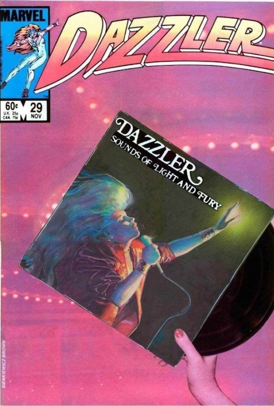 Dazzler Cover by Bill Sienkiewicz