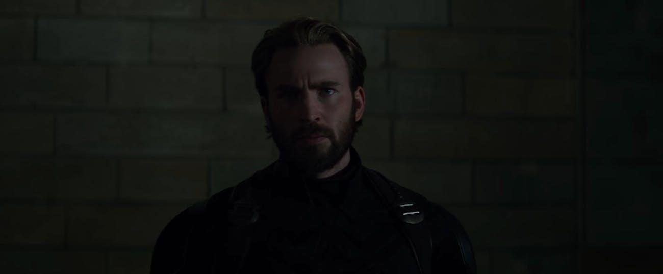 Captain America Avengers Infinity War